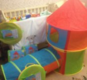 Палатка и туннель фирмы ELC новые