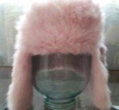 Меховая шапка для девочки