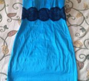 Платье атласное стрейчевое