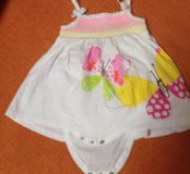 Боди-платье mothercare