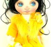 Текстильная кукла Стефания