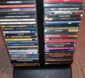 Игровые диски 60шт вместе с подставкой