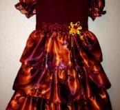 Платье нарядное р 104-110