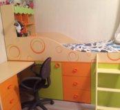 Кровать  со столом Фруттис