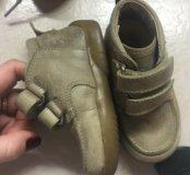 Naturino ботинки, натурино  20 размер