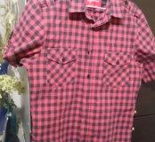 Рубашка с коротким рукавом 164-170
