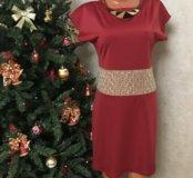 Турецкое красное платье 46-48 р