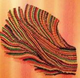 Панно плетеное из бумажной лозы