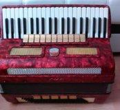 итальянский концертный аккордеон Stradella полный