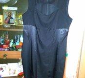Стильное платье для пышных дам