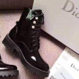 Лаковые ботинки Dior