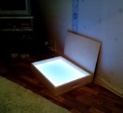 Планшет (стол) для рисования песком с  подсветкой