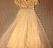 Платье на девочку фирмы Tegen 8-9 лет