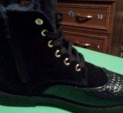 Зимние ботинки женские новые