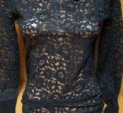 Блуза кружева новая