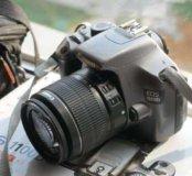 Зеркалка Canon 1100d в отличном состоянии, комплек