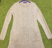 Теплое платье 44 р