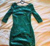 Новое платье в поедку.