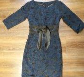 Платье атласное 42-44 размер