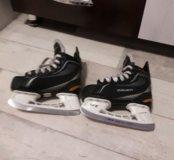 Коньки хоккеиные.