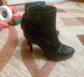 """Кожаные ботинки """"Респект"""""""