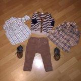 Комплект одежды на мальчика 74р