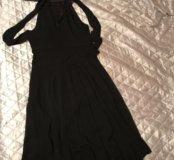 Красивое вечернее чёрное платье