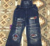 Продаю джинсы ( комбинезон)