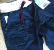 Новые джинсы джогеры