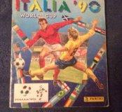 Альбом наклеек итальянской фирмы Panini ITALIA'90