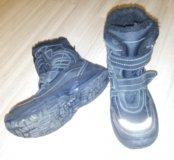 37-38 размер,Капика,ботинки,светоотражатели
