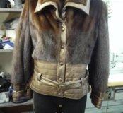 Меховая курточка