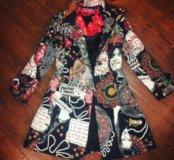 Desigual брендовое пальто 42-46