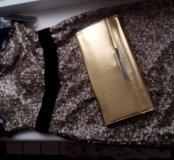 Новое платье Clarisse(из США)+ клатч Marykay