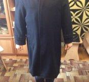 Пальто мужское, натуральный кашемир,