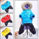 Качественный теплый костюм для собаки унисекс