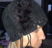 Зимняя шапка натуральная