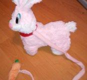 Игрушка заяц интерактивный