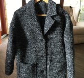 Пальто кокон р.40-44