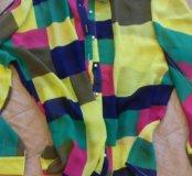 Яркая блузка новая 44-46