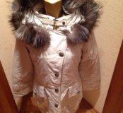 Пальто на кролике новое