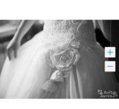 Свадебное платье от дизайнера Анны Родионовой.