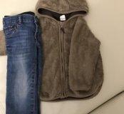Продам комплект джинсы Gap и толстовка H&M
