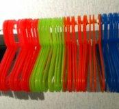 детские плечики разные цвета вешалки икеа