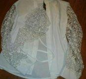 Блузка для школы рост 132