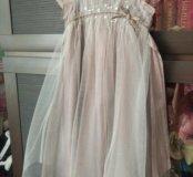 Нарядное платье Monsoon 3-4 года