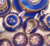 Сервиз Красавица-синий тюльпан