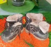 Батинки зимние на мальчика 13 размер