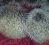 Куртка зимняя с натур.мехом48