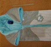Теплый конверт одеялко